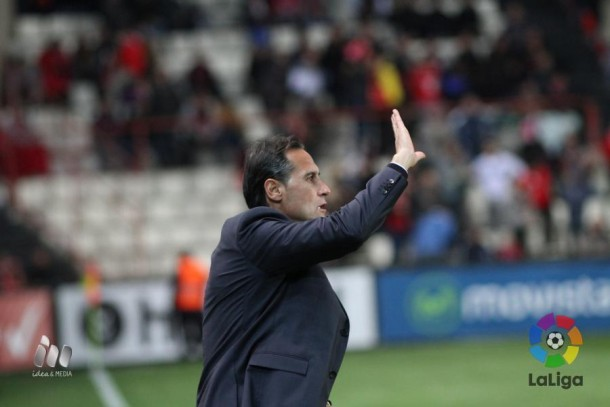 """Vicente Moreno: """"Lo importante era ganar y lo hemos conseguido"""""""