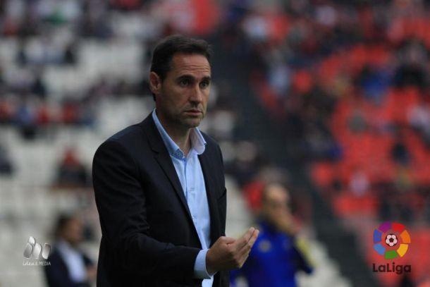 """Vicente Moreno: """"La sensación es que hemos tirado la primera parte"""""""