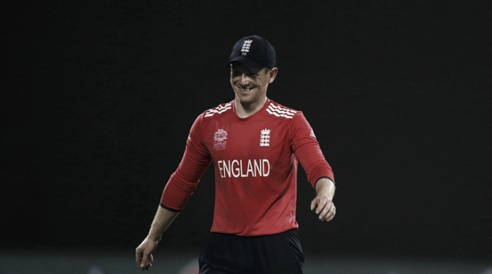 Eoin Morgan urges England to play without fear in World T20 semi-final