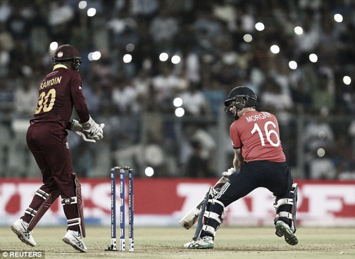 Sensational late hitting secures World T20 for West Indies