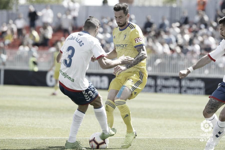"""Morillas: """"Hemos dado un pasito adelante, hemos ido a por el partido y final el punto es bastante positivo"""""""