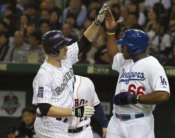 MLB All Stars Take Game Four Over Japan