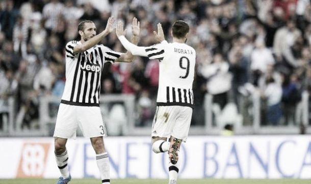 La Juve c'è, anche in campionato: 3-1 al Bologna, Morata sugli scudi