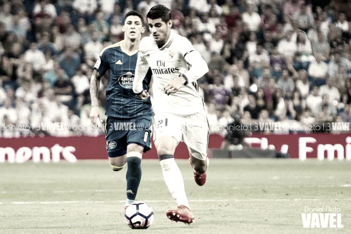 Álvaro Morata, el más decisivo del Madrid en liga