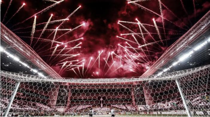 Organizadas do Atlético planejam diante do Grêmio maior mosaico de Minas Gerais