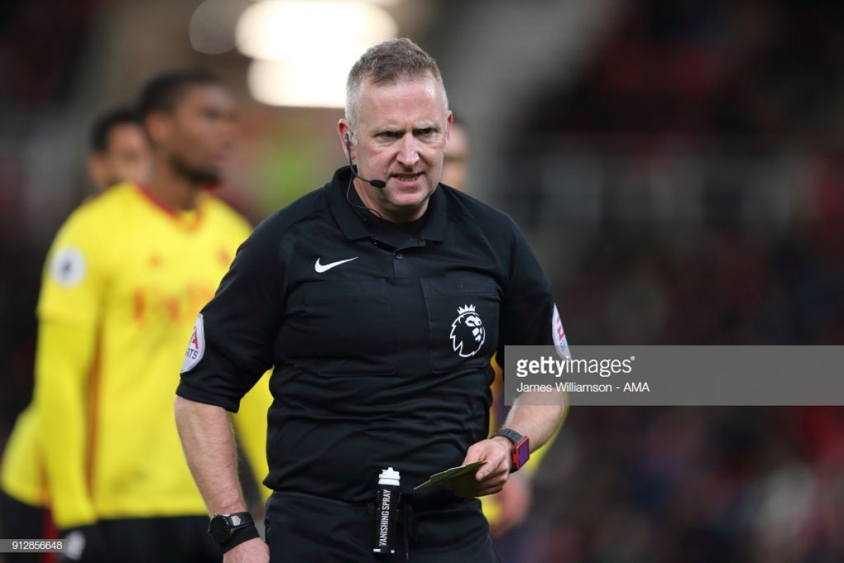 Moss to take charge of Watford's season-opener against Brighton