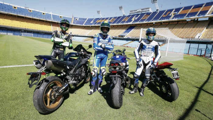 Hernandez and Espargaro brothers take to streets of Buenos Aires