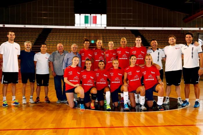 Volley, A1 femminile - Ecco la nuova Promoball Montichiari