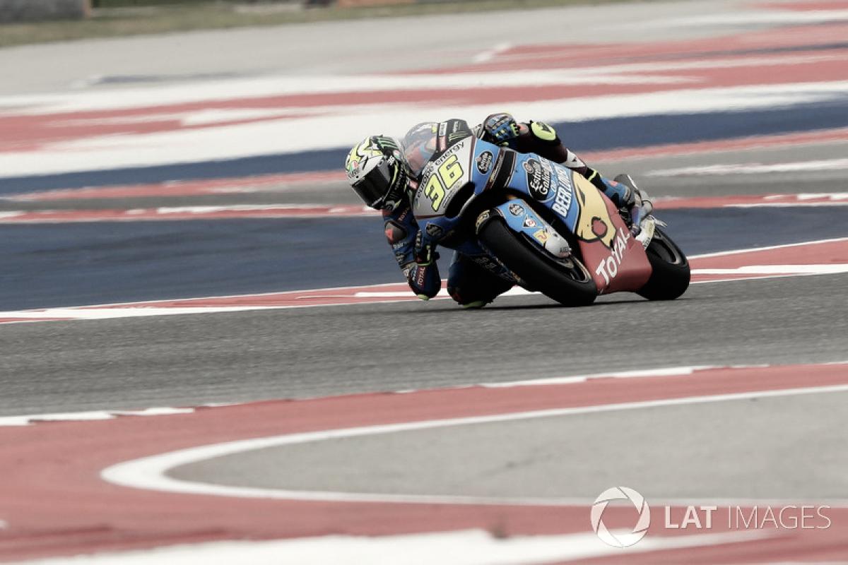 Mir ya se ve luchando por la victoria de Moto2
