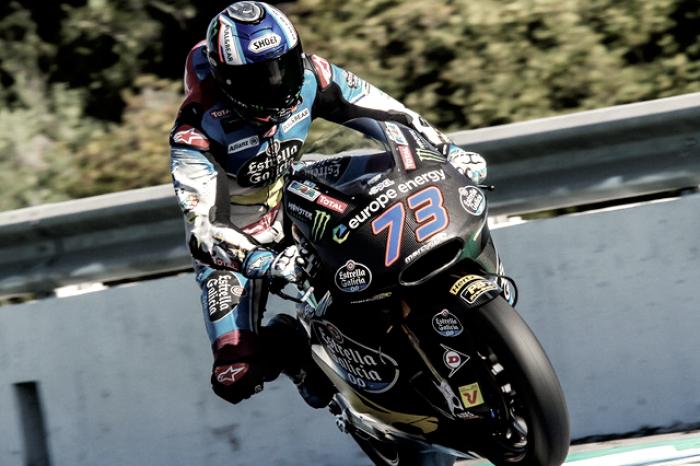 Álex Márquez vuela en la última jornada de test en Jerez