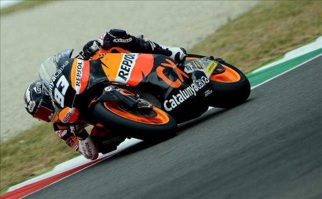 La carrera de Moto2, en directo: Márquez se escapa