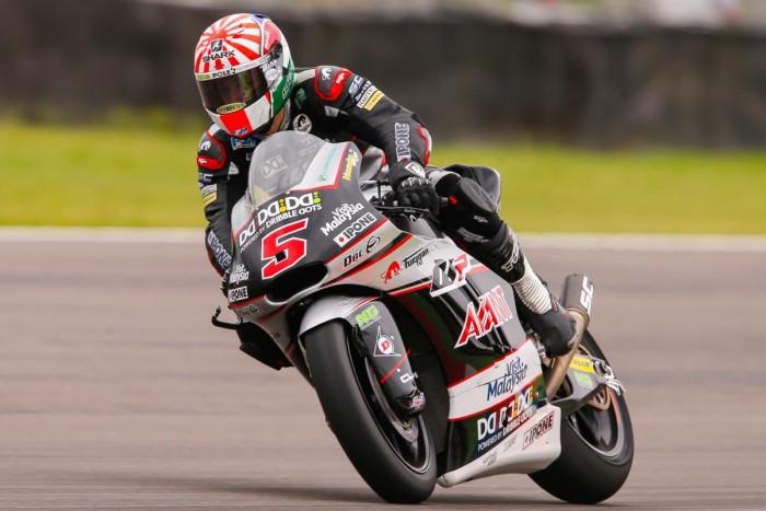 Moto 2 : Premier salto