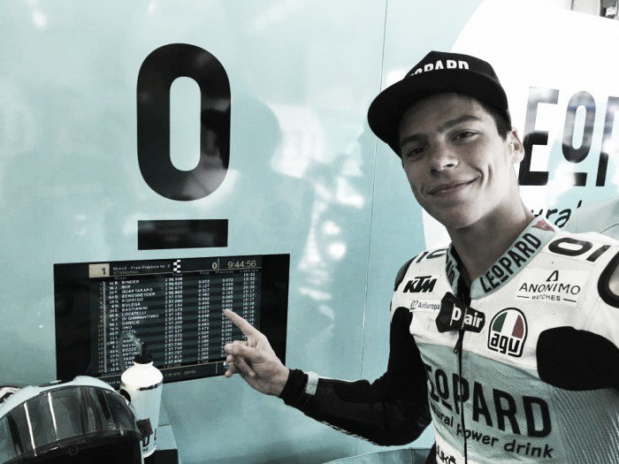 Rookie Mir claims first pole position of his life in Moto3