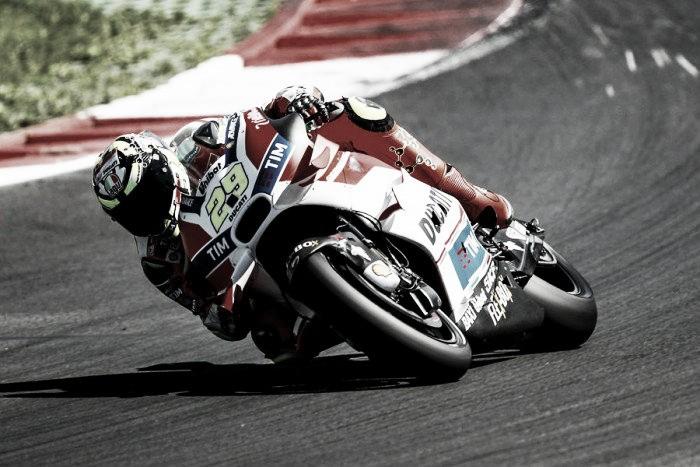 Ducati show impressive form, leading the FP3 in Moto GP