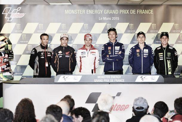 Rueda de prensa del GP de Francia de MotoGP 2015