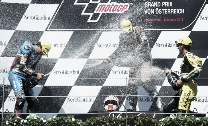 Zarco wins the Austrian Moto2, but it wasn't easy