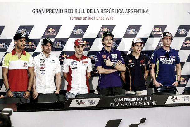 Rueda de prensa del GP de Argentina de MotoGP 2015