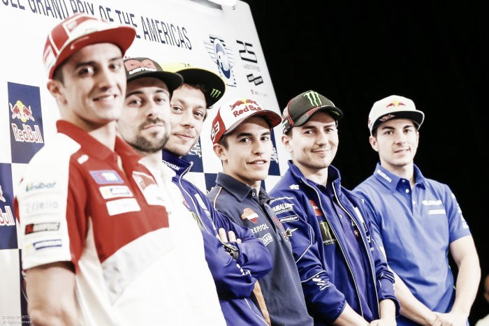 Rossi, Lorenzo and Iannone speak ahead of Circuit of the Americas