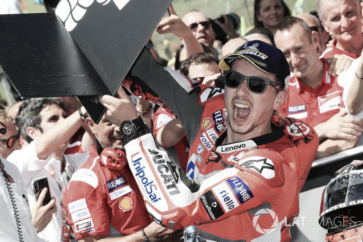 """Lorenzo:""""La Desmosedicide Rossi era seguramente más complicada que esta"""""""