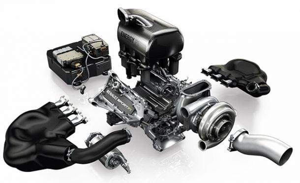 Análisis de las unidades de potencia de Ferrari, Renault y Mercedes