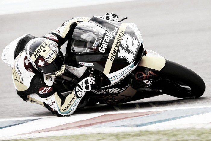 Luthi leads the Moto2 in Austria