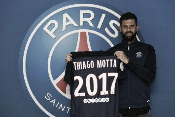 Thiago Motta renueva con el Paris Saint-Germain hasta 2017