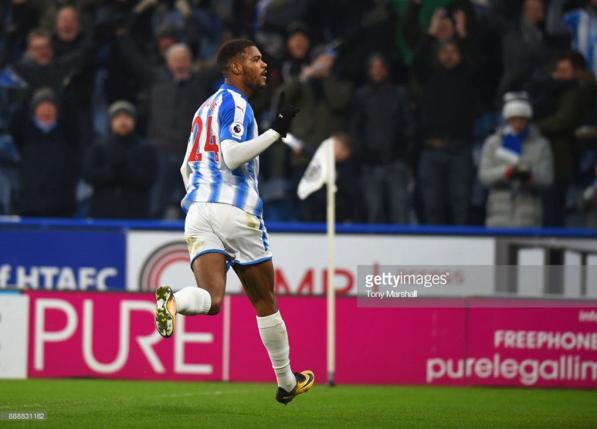 Steve Mounié stresses the importance of Huddersfield Town fans' support