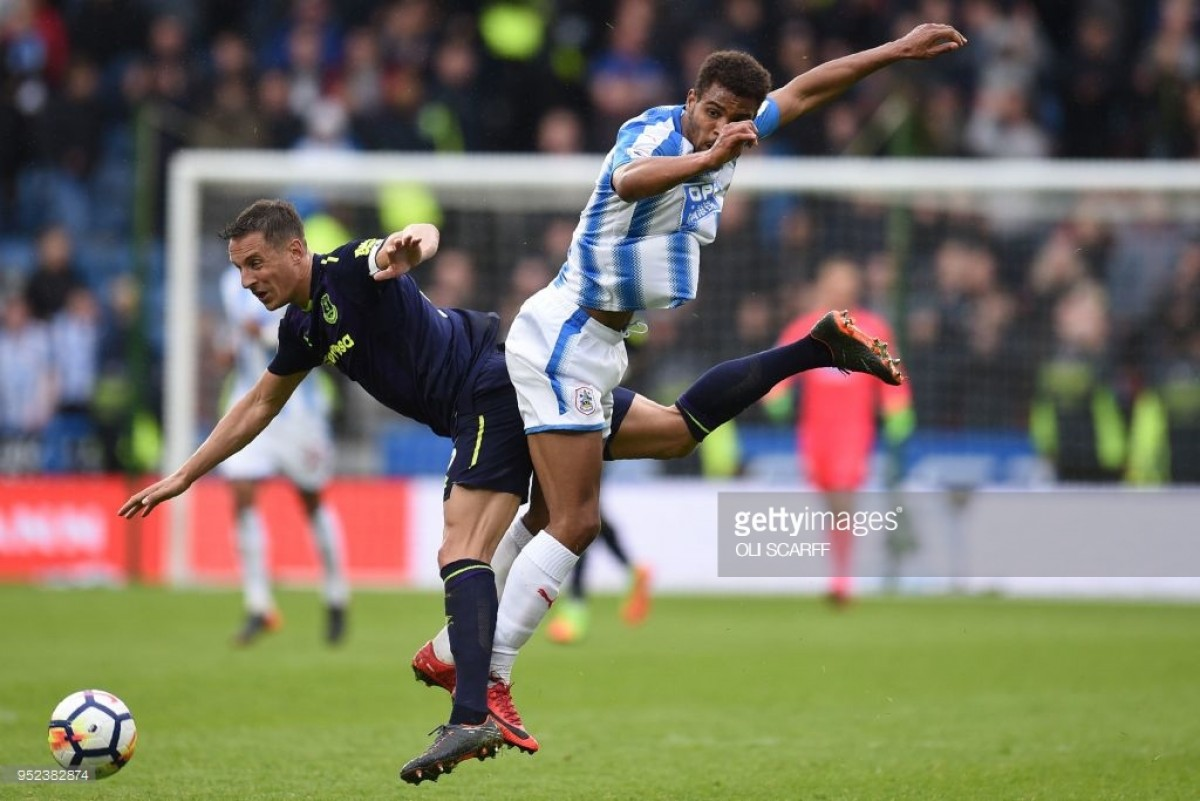 """Anything can happen in football,"" says Steve Mounié ahead of Huddersfield's final fixtures"