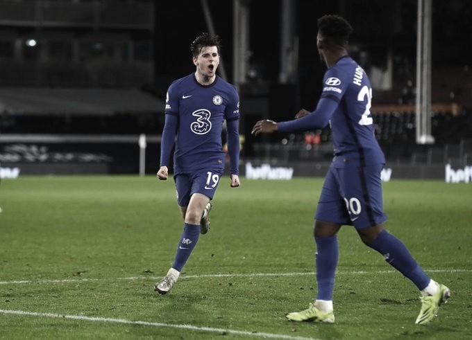Mason Mount marcó el gol del triunfo ante Fulham. Foto: Chelsea.