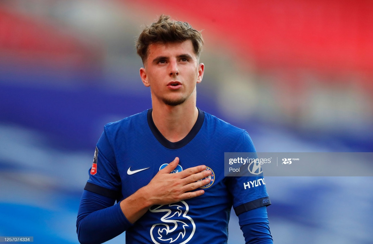 Mason Mount during the FA Cup semi-final against Manchester United | Photo: Getty/ Pool