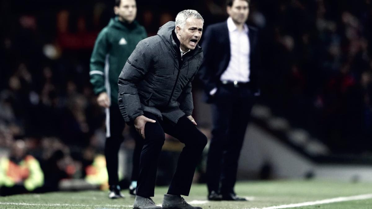 """José Mourinho: """"Normalmente estaríamos en la lucha por el título"""""""