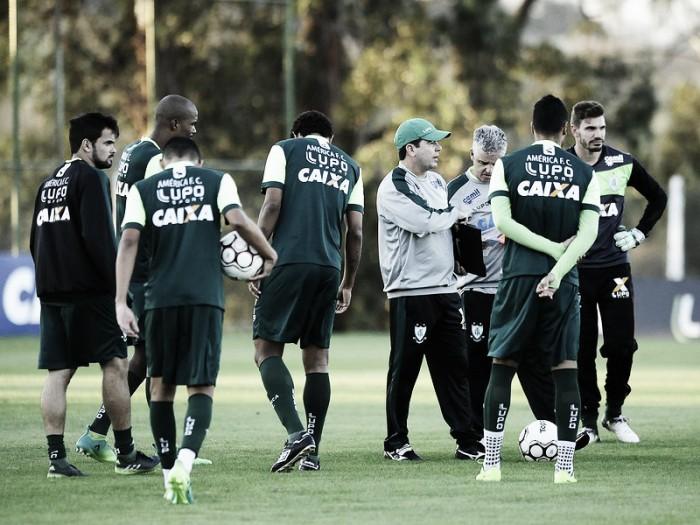 Com novidades no time, América finaliza preparação para enfrentar o Boa Esporte