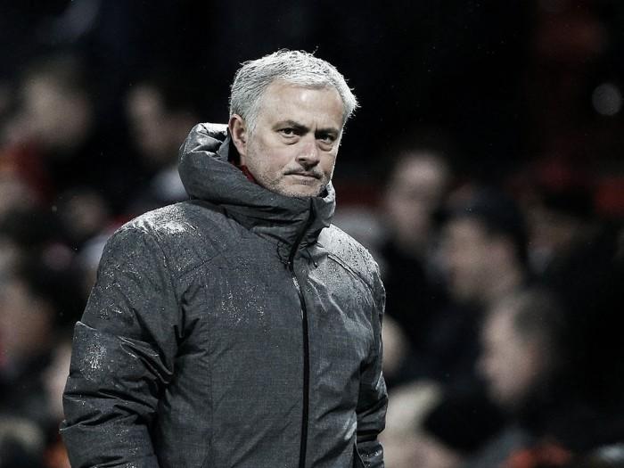 Mourinho elogia desempenho do Manchester United em vitóriacontra Stoke City