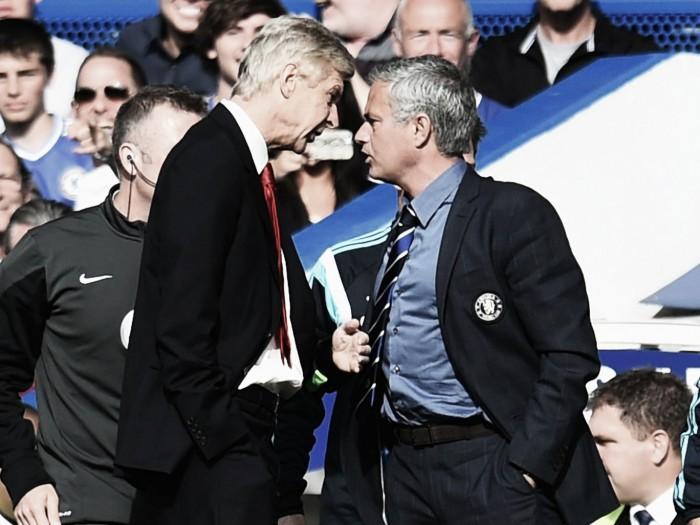 """Antes do clássico contra Arsenal, Mourinho polemiza: """"Não tenho o respeito que Wenger possui"""""""