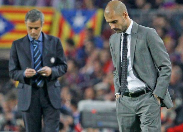 Guardiola - Mourinho, le duo perdant