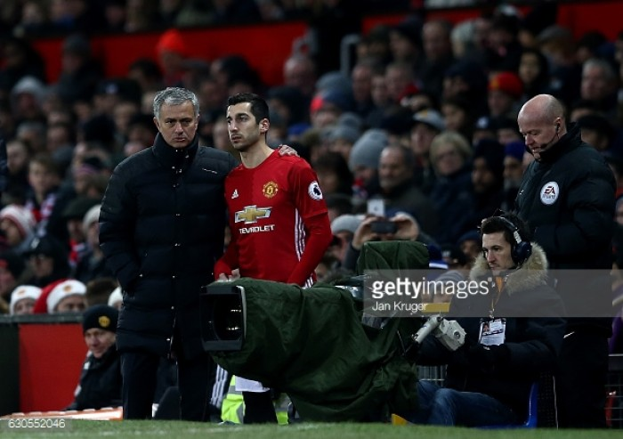 Opinion: Mourinho's Mkhitaryan treatment has increased trust from both fans and players