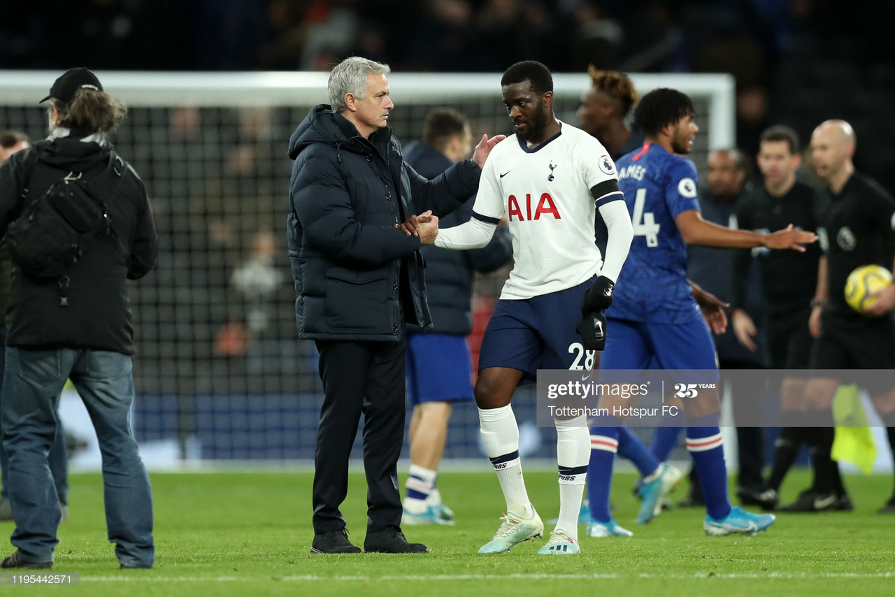 Jose Mourinho categorically denies any issue with Spurs midfielder Tanguy Ndombele