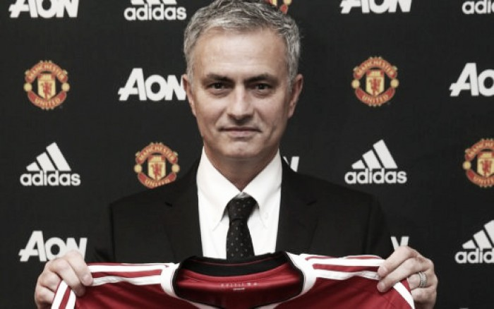Jose Mourinho 'proud' and 'honoured' to be Manchester United manager