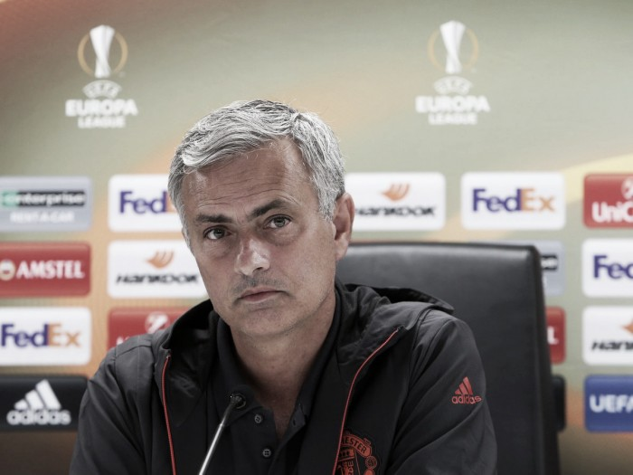 Mourinho insists Manchester United want Europa League trophy despite ultimate aim of Champions League