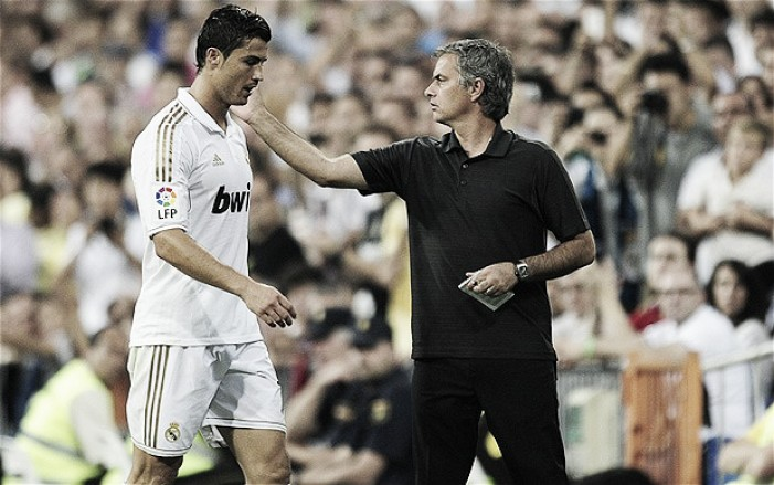 Cristiano Ronaldo thinks Jose Mourinho can take United back to the top