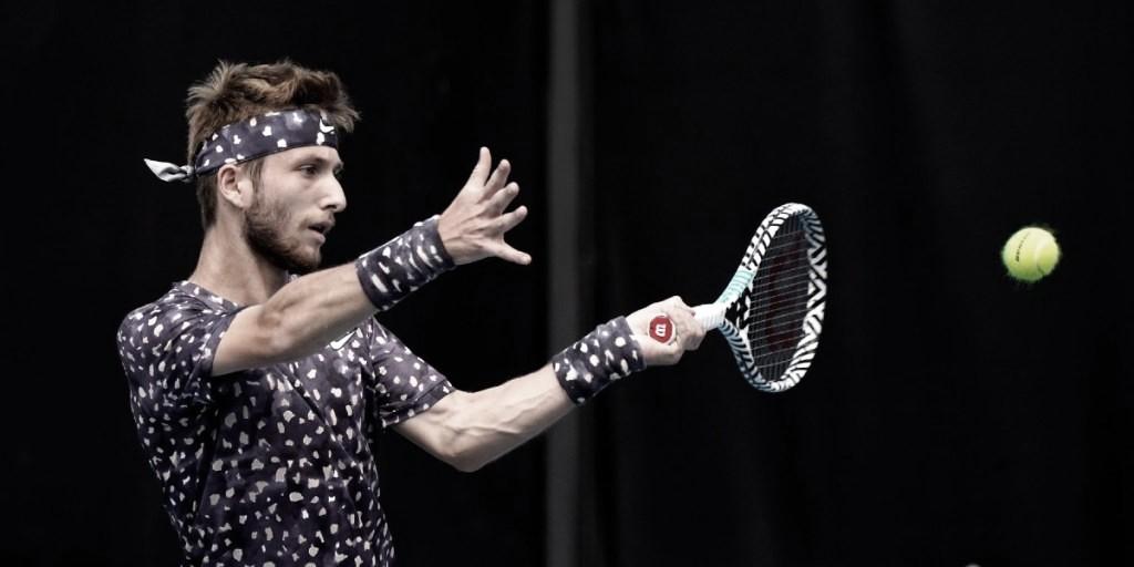 Após título em Punta Del Este, Monteiro cai para Moutet na estreia do ATP 250 de Córdoba