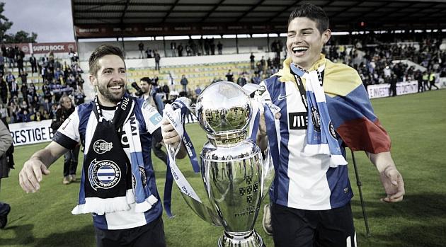 Moutinho y James Rodríguez, nuevos jugadores del Mónaco