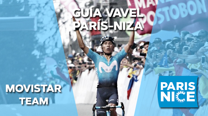 Guía VAVEL: París-Niza 2019. Movistar Team