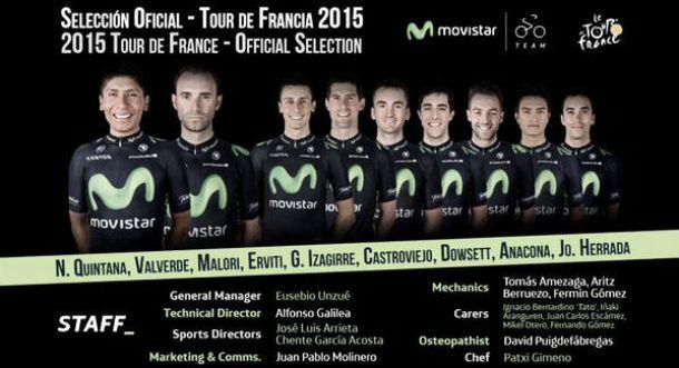 Una escuadra de lujo acompañará a Nairo Quintana en el Tour de Francia