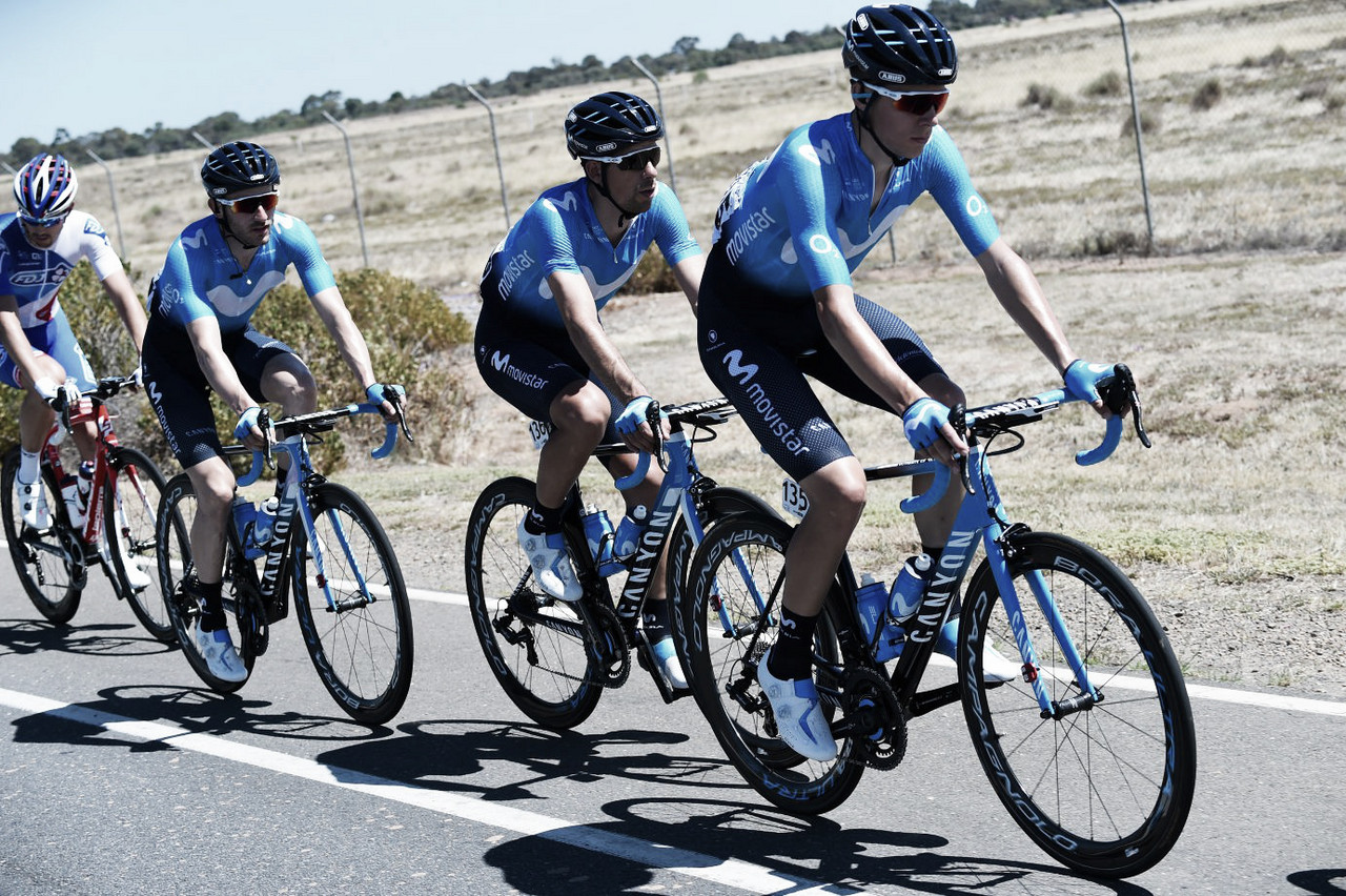 Movistar confirma su equipo para el Tour Down Under