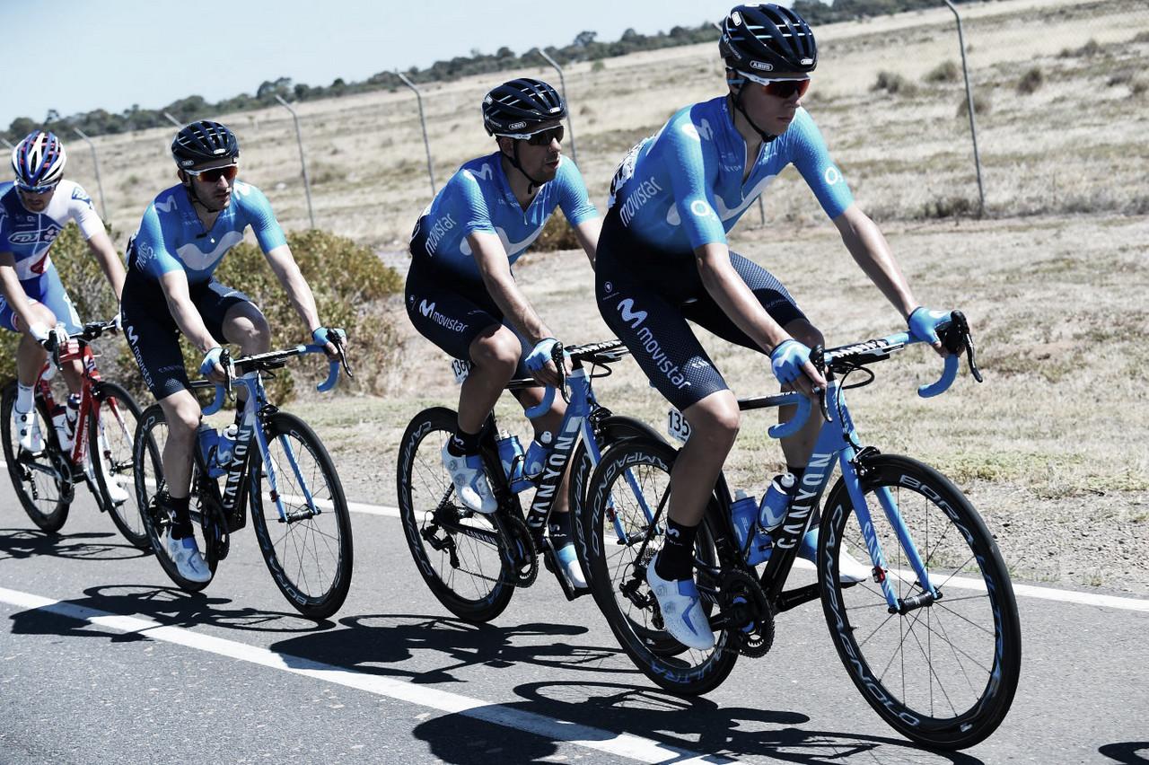 Movistar confirma su equipo para el Tour Down Under