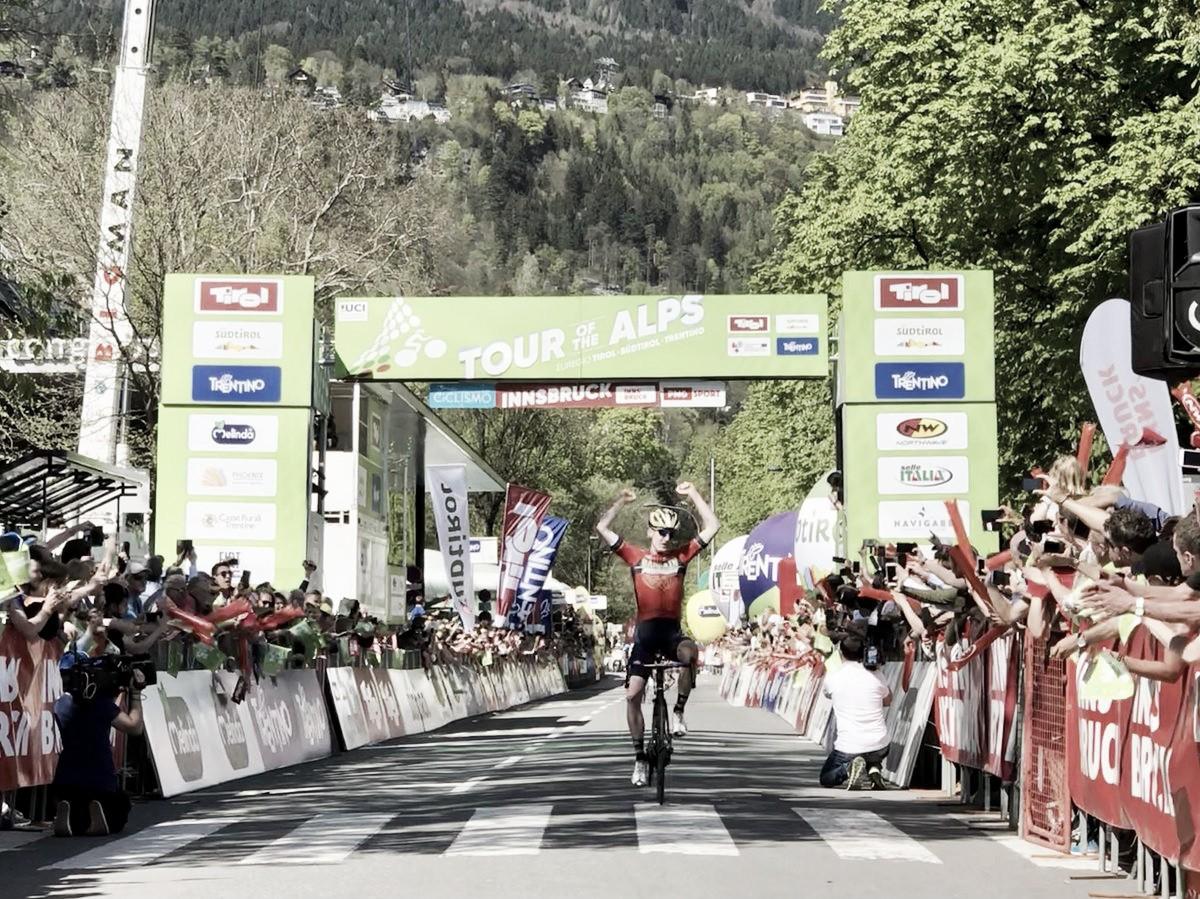 Tour of The Alps, Padun vince l'ultima tappa. Pinot si aggiudica la corsa