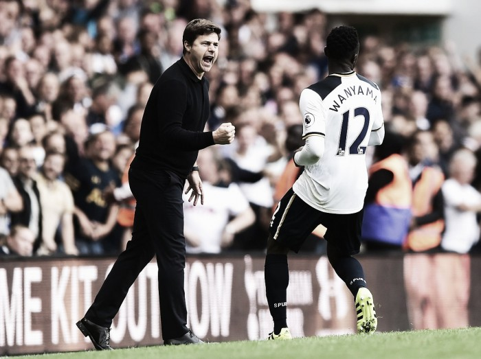Mauricio Pochettino believes his side deserved their win over Palace