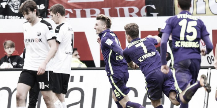 SV Sandhausen 0-2 SC Freiburg: Philipp and Petersen come off the bench to secure first win in three