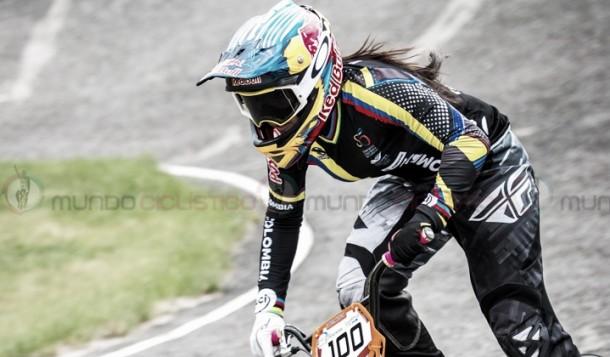 Mariana Pajón y Carlos Mario Oquendo se impusieron en el Internacional de BMX